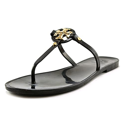 3fcd43cefbfa3 Tory Burch Mini Miller Flat Thong Black Sandal 6  Amazon.ca  Shoes    Handbags