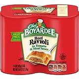 Chef Boyardee Beef Ravioli, (15 oz, 4 Pack) - 2 Pack