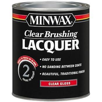 Minwax 155000000 Clear Brushing Lacque, Quart, Gloss