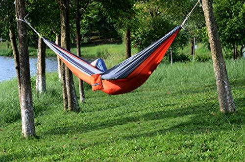 WoneNice Camping Hammock – Portable Lightweight Double Nylon Hammock, Best Parachute Hammock with 2 x Hanging Straps for…
