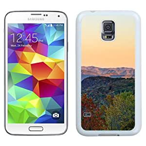 Unique Designed Cover Case For Samsung Galaxy S5 I9600 G900a G900v G900p G900t G900w With Mk Rainbow Fall Mountain Nature Sky (2) Phone Case