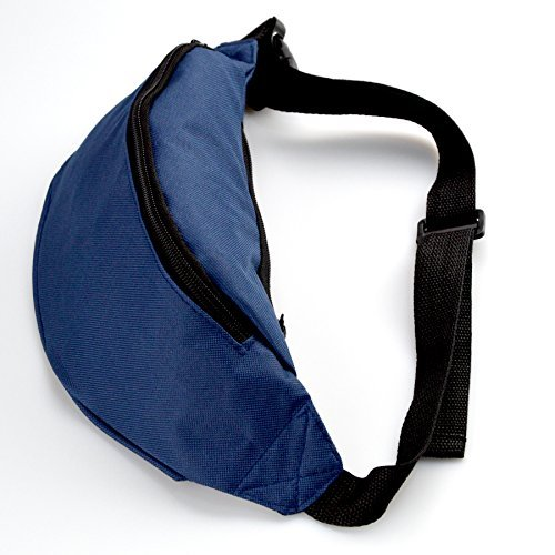Spanwell Unisex Waist Pack Heartbeat Volleyball Flat Fanny Bag Pack For ort Running Travel