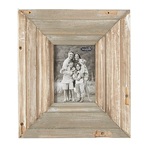 Mud Pie 14 Inches x 12 Inches Reclaimed Wood Frame (Frame Mud Pie Wood Picture)