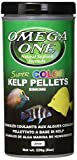 omega 226 - Omega One Super Color Kelp Small Sinking Pellets 8 Ounce (226 Grams) for all Algae Grazers, Freshwater and Saltwater,  Made with Fresh Kelp and Spirulina