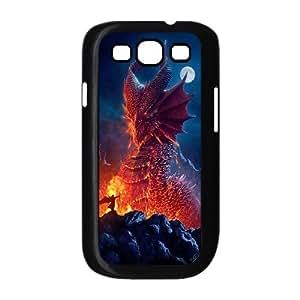 ALICASE Diy Back Case Dragon For Samsung Galaxy S3 i9300 [Pattern-1]