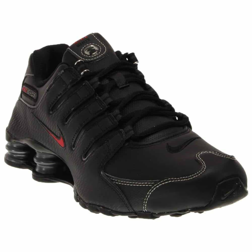 fbaf421b31f Galleon - Nike Mens Shox NZ Premium Running Shoes Anthracite Black Cool  Grey 536184-003 Size 9