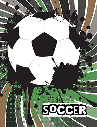 Soccer: Soccer Notebook for Boys: (Notebook, Composition Book, Journal) (8.5 x 11 Large) ebook