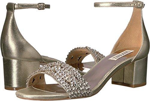 Badgley Mischka Women's Triana Dress Sandal, Platino, 8 M (Badgley Mischka Evening)