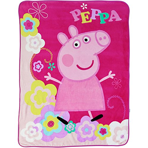 Peppa Pig Throw Blanket - 46 in. x 60 in.