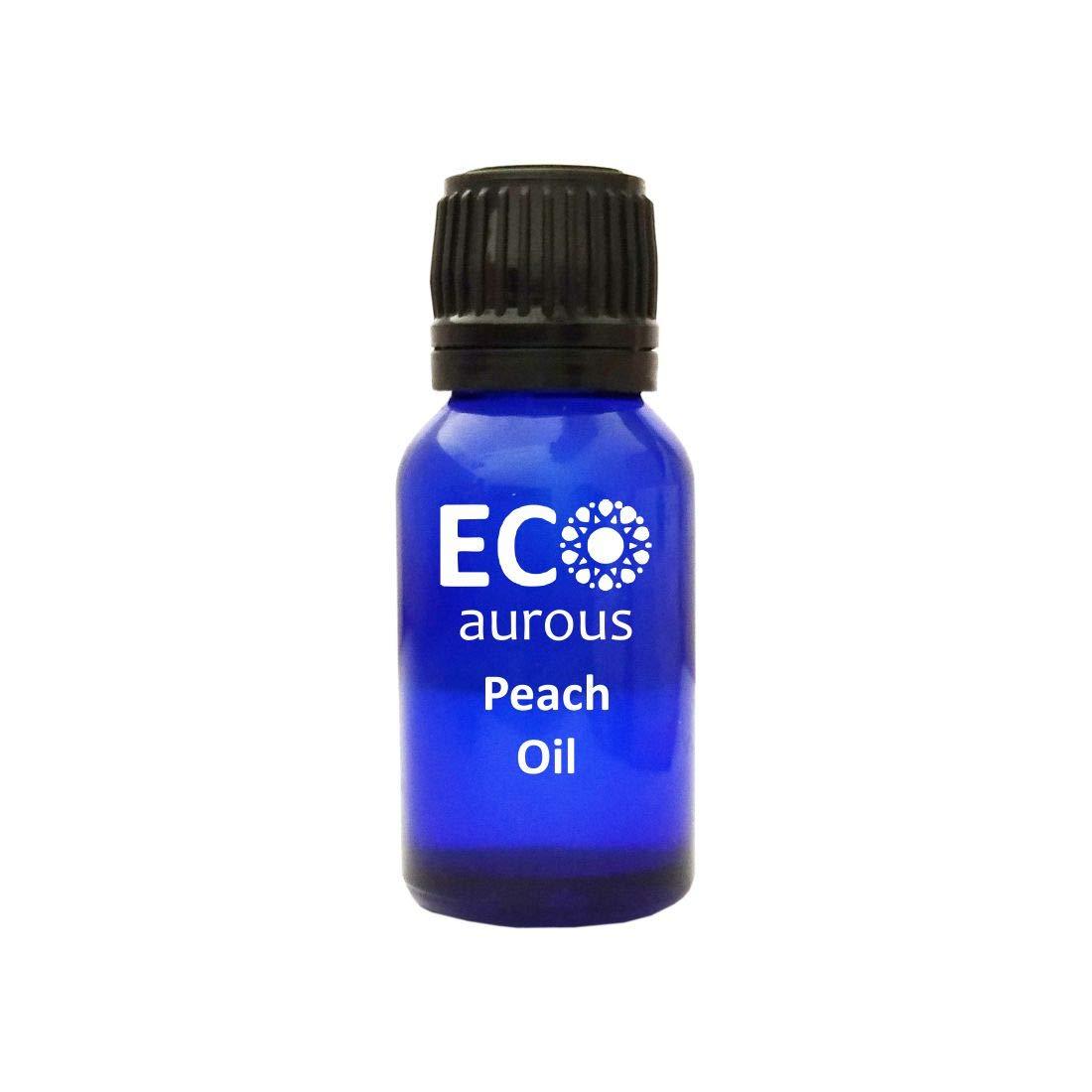 Peach Oil (Prunus Persica) 100% Natural, Organic, Vegan & Cruelty Free Peach Carrier Oil | Pure Peach Oil By Eco Aurous (2000 ml)