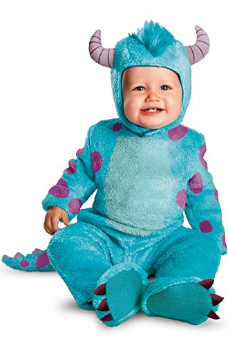 Pink Monster Halloween Costumes (Disguise Costumes Disney Pixar Monsters University Sulley Classic Infant, Blue/Purple, 6-12 Months)