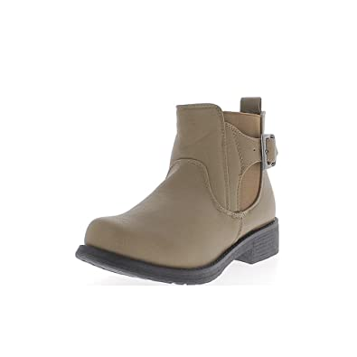 bba4c6aea0b2 ChaussMoi Ankle boots woman Mole in thick 4cm stem elasticated heel - 7.5