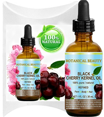 BLACK CHERRY KERNEL OIL. 100% Pure / Natural /Refined / Undi