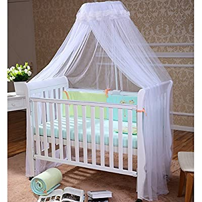 FOXNOVO Mosquito Net,Baby Canopy Bed Netting,High Quality