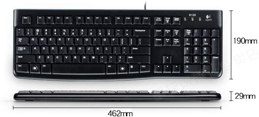 Wired Mouse Game Mouse Set USB Computer Suite Office Home Keyboards
