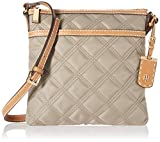 Tommy Hilfiger Large Crossbody Bag for Women Julia, Khaki
