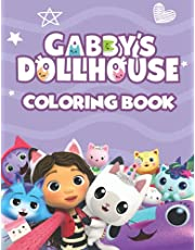 GABBY'S DOLLHOUSE COLORING BOOK: A COOL COLORING BOOK WITH +50 ILLUSTRATIONS OF GABBY'S DOLLHOUSE FOR FANS OF ALL AGES.