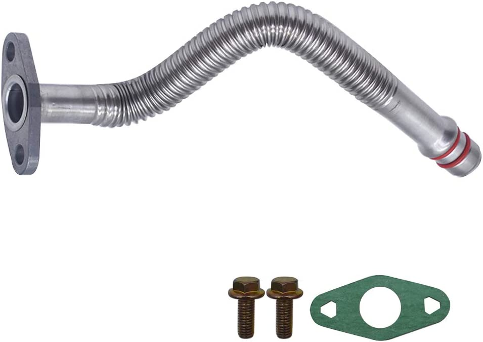 Turbo Oil Return Drain Line Tube Fits for Dodge Cummins 5.9L Diesel 5135786AB
