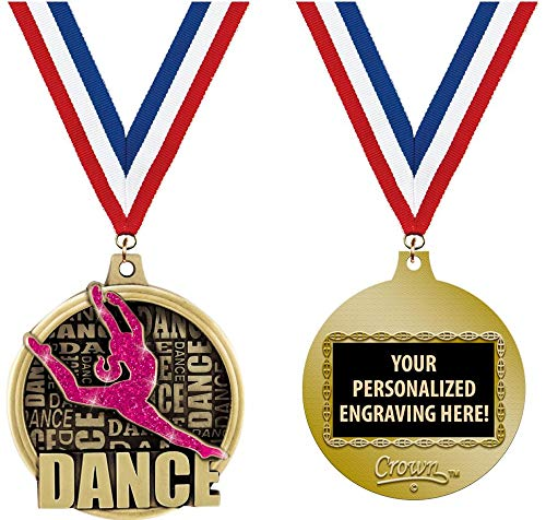 Crown Awards Custom Dance Medals, 2