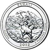 2012-D Denali National Park Quarter - Single Coin