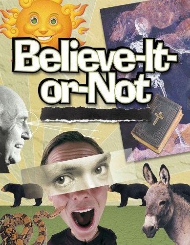 (Believe It or Not: Bible Studies for Youth Ministry)