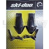 #5: Ski-Doo New OEM Side Panel Latch Fastener Kit Black REV-XP 860200239