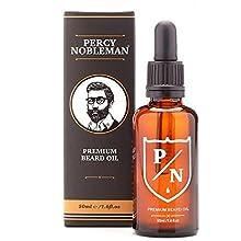Aceite para barba de Percy Nobleman – PREMIUM aroma mezcla (50 ml)