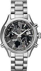 Timex Intelligent Quartz T2N944 Mens World Time Watch