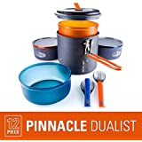 GSI Outdoors - Pinnacle Dualist, Camping Cook Set, Superior Backcountry Cookware Since 1985