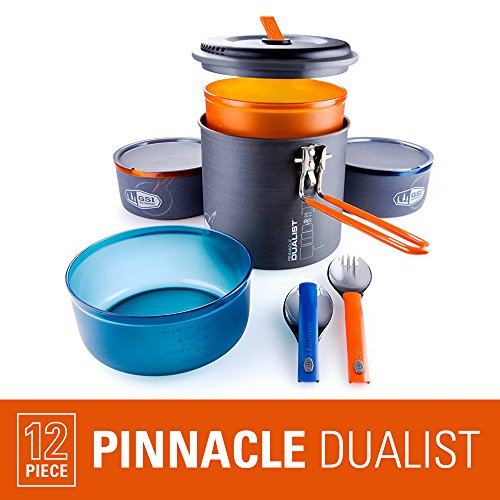 Bowl Lexan (GSI Outdoors - Pinnacle Dualist, Camping Cook Set, Superior Backcountry Cookware Since 1985)