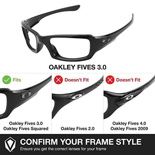 3 de Fives Verres rechange 0 Oakley pour XwxdUF
