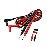 Elecall 2001 Needle Tip Probe Test Leads Pin Hot Universal Digital Multimeter Multi Meter Tester Lead Probe Wire Pen Cable 18mm