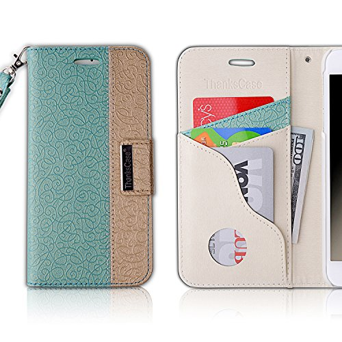 iPhone Thankscase Wallet Pattern Shock Absorbing