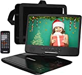 """HDJUNTUNKOR Portable DVD Player with 10.1"""" HD"""