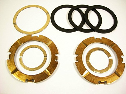 TH400 thrust washer kit with 8 washers total, with 1 selective washer