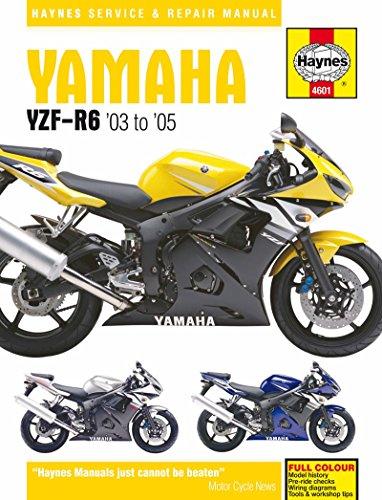 yamaha r6 service manual - 2