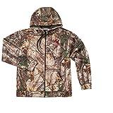 NFL Tampa Bay Buccaneers Adult Trophy Realtree Xtra Polyester Tech Fleece Full Zip Hoodie, 5X, Camo