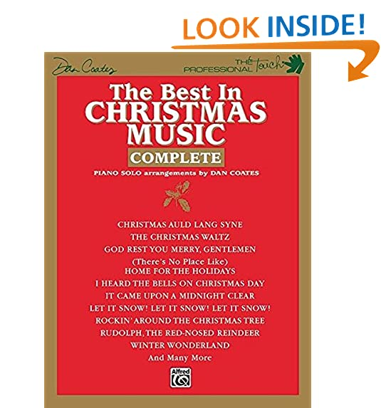 Piano Christmas Sheet Music Amazon