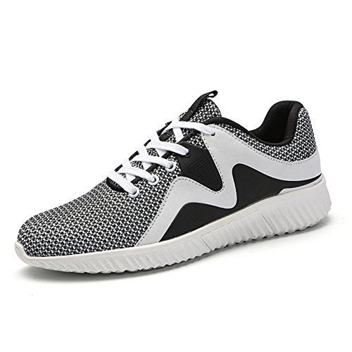 Running Sport Shoes for Men Breathable Mesh Casual Outdoor Sports Shoes Gray