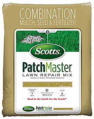 Scotts 14870 Southern Gold Patch Master Repair Mix for Tall Fescue Lawns
