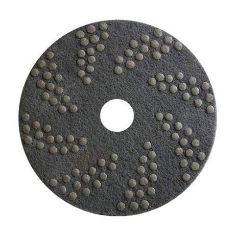 Concrete DNA Resin Satellite Pads | Double Sided Diamond Floor Polishing Pads | 17'', 100 Grit by Concrete Floor Supply