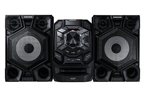 Samsung 600-Watt Bluetooth Dual Voltage Hi-Fi Audio Stereo Sound System With Single Disc Cd Player, FM-Radio, Karaoke Capability, Remote Control