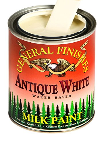 General Finishes Antique White Milk Paint, Gallon