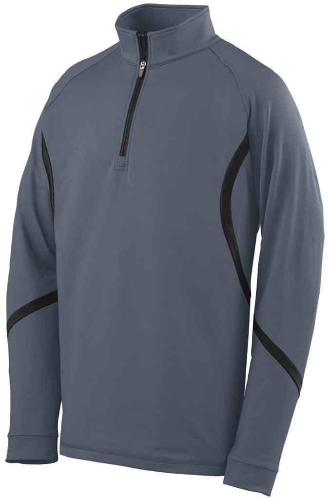 Augusta Sportswear 4760大人用Zealプルオーバー B00EZN7588 4L|グラファイト/ブラック グラファイト/ブラック 4L