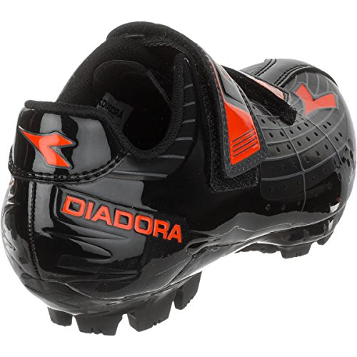 Scarpa Da Mountain Bike Diadora Junior / Kids X-phantom - 159091 Nero / Rosso Fluo