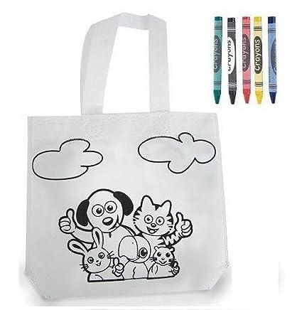 Bolsa infantil para pintar con pinturas de cera Pack de unidades