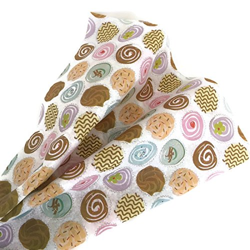 Cupcake Tissue Paper for Gift Wrapping, Decorative Gift Tissue Paper , 24 (Cupcake Wrapping Paper)