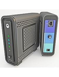 ?Cable módem en caja de embalaje Arris Motorola SB6121 DOCSIS 3.0 (caja marrón)