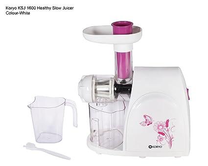 Koryo Ksj 1600 50W Healthy Slow Juicer (White)