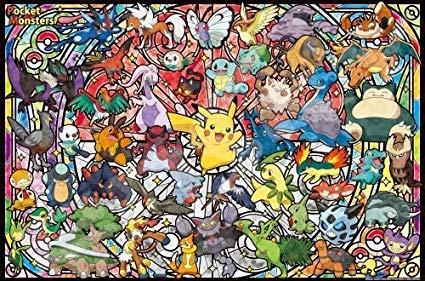 ensky 1000 Piece Art Crystal Jigsaw Puzzle Pokemon Best Partner (50 x 75 cm)